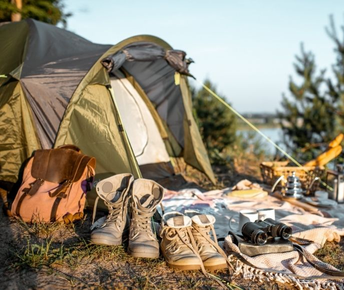 tente camping FDJ