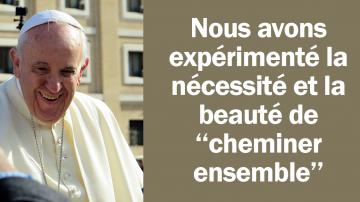 Vignette Facebook pape cheminer synode