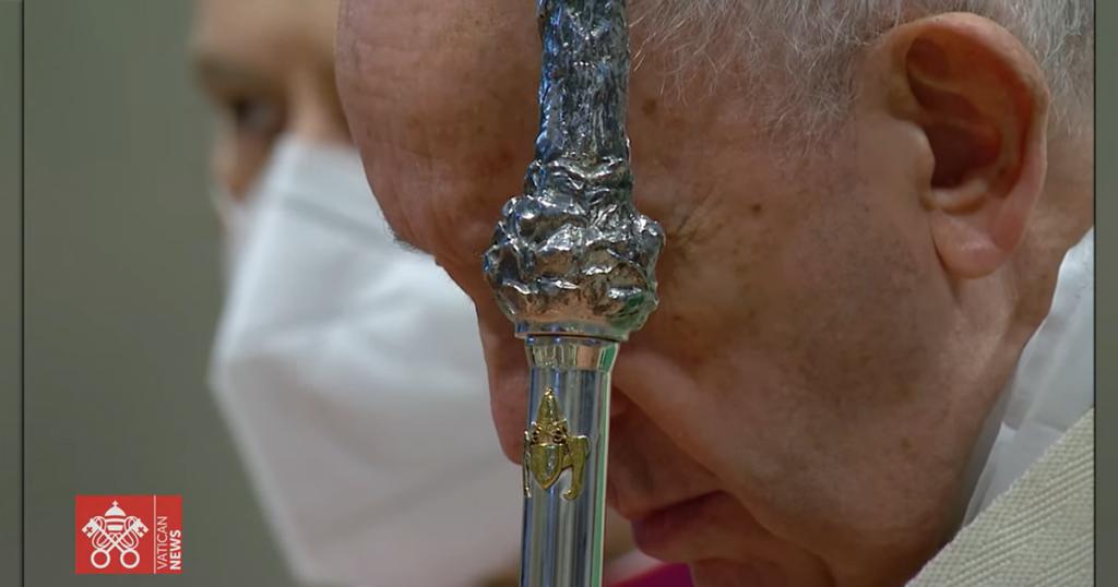 Vignette format Facebook Lancement synode pape 2021